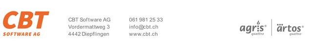 Logo CBT Software AG